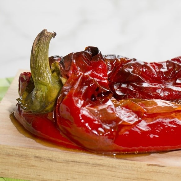 Pimiento rojo asado